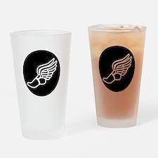 Running Sneaker Drinking Glass