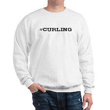 Curling Hashtag Sweatshirt