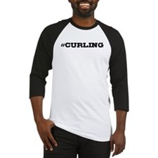 Curling Hashtag Baseball Jersey