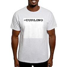 Curling Hashtag T-Shirt
