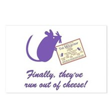 The Cheesey Postcards (Package of 8)