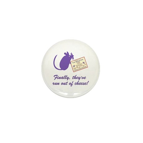 The Cheesey Mini Button (10 pack)
