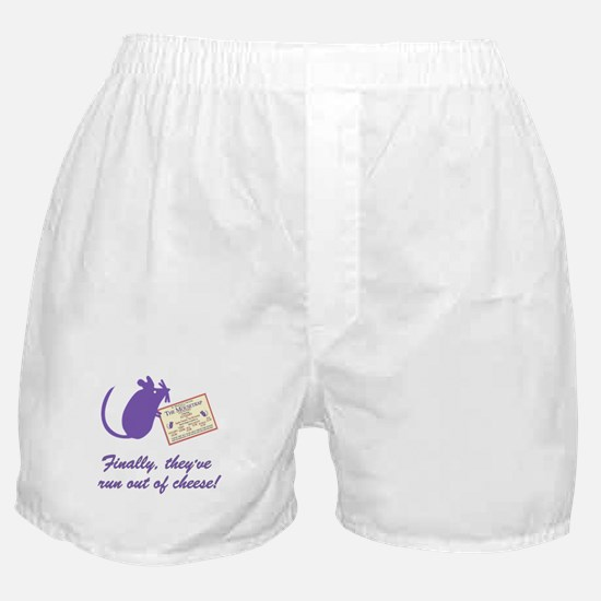 The Cheesey Boxer Shorts