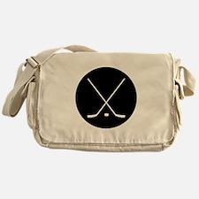 Hockey Sticks Messenger Bag