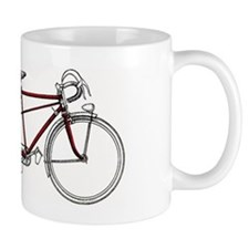 Vintage Tandem Bicycle Mugs