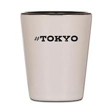 Tokyo Hashtag Shot Glass