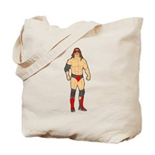 Professional Wrestler Tote Bag