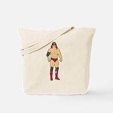 Professional Wrestler Tote Bag