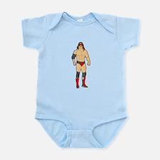 Professional Wrestler Body Suit