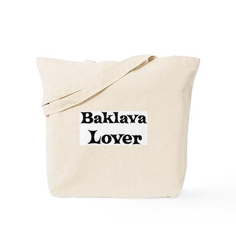 Baklava lover Tote Bag