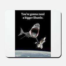 Space Shark! Mousepad