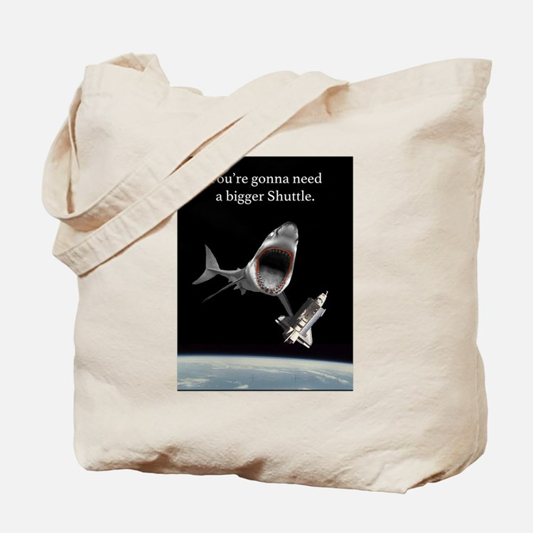 Space Shark! Tote Bag