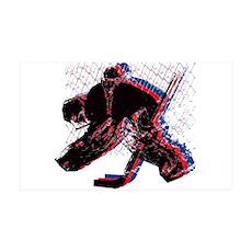 Hockey Goaler Sticker Wall Decal