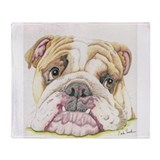 English bulldog Blankets