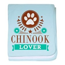 Chinook Dog Lover baby blanket