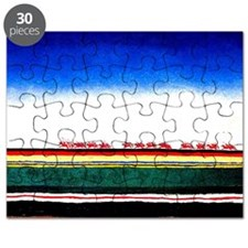 Malevich - Red Cavalry Puzzle