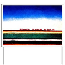 Malevich - Red Cavalry Yard Sign