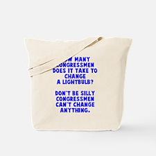 Congress change Tote Bag