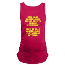Congress change Maternity Tank Top