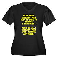 Congress change Plus Size T-Shirt