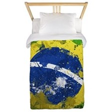 Brazilian Flag Twin Duvet