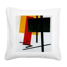 Malevich - Suprematism 1915 Square Canvas Pillow