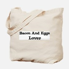 Bacon And Eggs lover Tote Bag