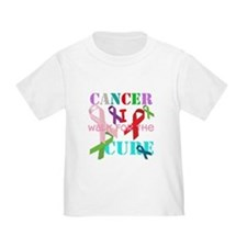 Cancer, I walk for a cure T-Shirt