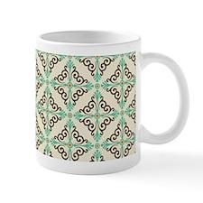 Swirly Damask Mug