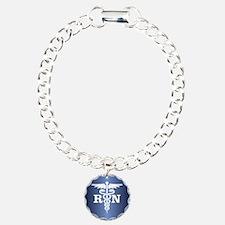 Caduceus RN (blue) Bracelet