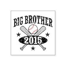 "Big Brother 2015 Square Sticker 3"" x 3"""