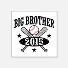 "Big Brother 2015 Square Sticker 3"" x 3"""