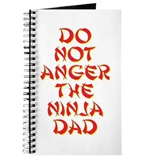 Do Not Anger the Ninja Dad Journal