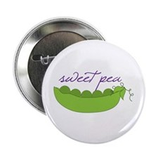 """Sweet Pea 2.25"""" Button"""