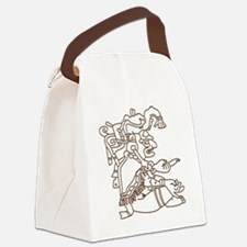 Mayan Art Canvas Lunch Bag