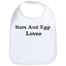 Ham And Eggs lover Bib