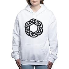 Celtic Haze Women's Hooded Sweatshirt