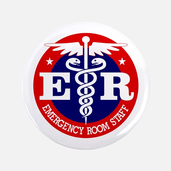 "ER Staff 3.5"" Button"