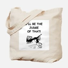 JUDGE3 Tote Bag