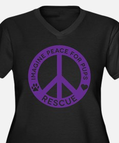 IMP4P Peace Logo Plus Size T-Shirt