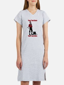 Lumberjack CUSTOM TEXT Women's Nightshirt