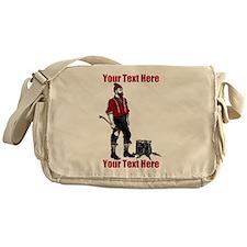 Lumberjack CUSTOM TEXT Messenger Bag