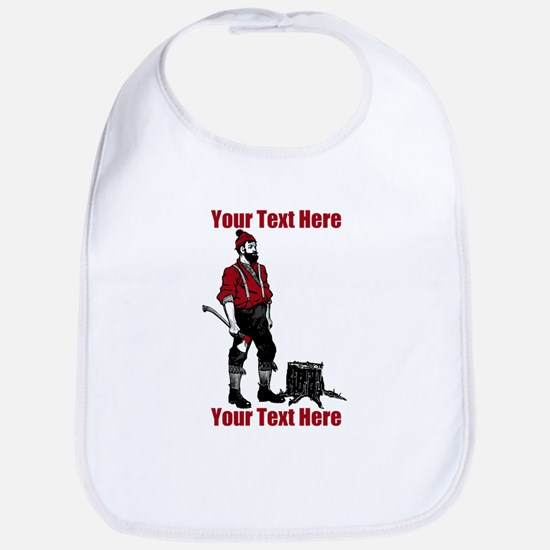 Lumberjack CUSTOM TEXT Bib