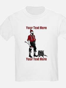Lumberjack CUSTOM TEXT T-Shirt