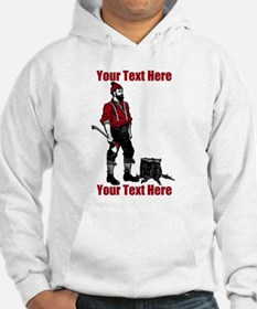 Lumberjack CUSTOM TEXT Jumper Hoody