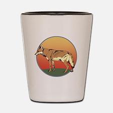 Coyote Sunset Shot Glass