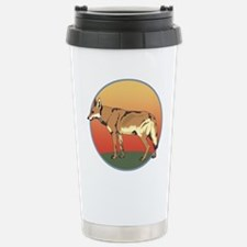 Coyote Sunset Stainless Steel Travel Mug