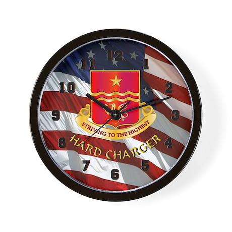 30th Field Artillery Wall Clock