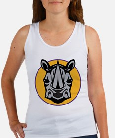Rhino Head Women's Tank Top