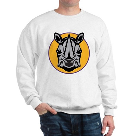 Rhino Head Sweatshirt